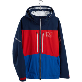 Burton Swash Chaqueta Gore-Tex Hombre, dress blue/flame scarlet/lapis blue